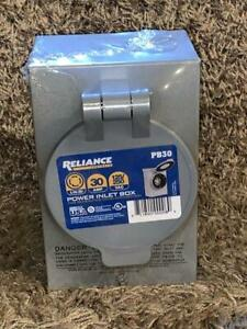 New Reliance Controls Pb30 30 amp Power Inlet Box For Transfer Switch