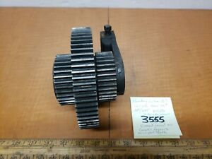 Hendey Lathe 16 Qcgb Compound Gear Set 68t 34t 875 Id