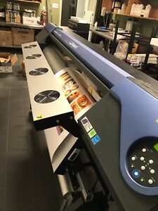 used Roland Versacamm Vs 540 54 Printer And Cutter