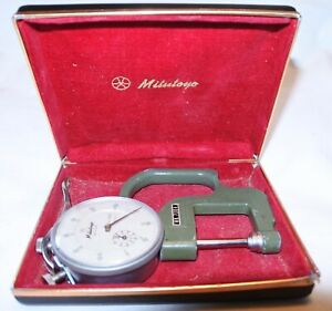 Mitutoyo No 7304 Dial Thickness Gauge 2416