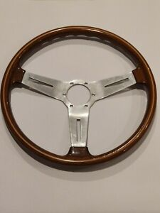 Vintage Bmw 2002 1978 Nardi Personal Wood Steering Wheel 390mm With Hub