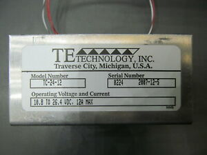 Te Technology Tc 24 12 Thermoelectric Cooler Temperature Controller