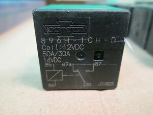 New Song Chuan Automotive Relay Mini iso 896h 1ch d Coil 12vdc 50 30a 14vdc