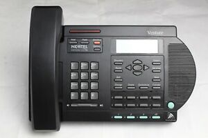 Nortel Venture Black 3 line Digital Business Office Phone