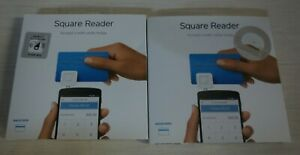 Square Credit Card Magstripe Reader With Headset Jack 2 Readers