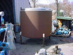 600 Gallon Stainless Steel Jacketed Tank