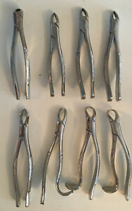 Patterson Dental 8 Extraction Forceps S s 2 16 18r 88l 2 150 150s 151
