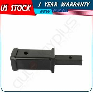 Tow Trailer Hitch Receiver Adapter 1 1 4 To 2 Extend Towing 11 3 8 Hitch Tool