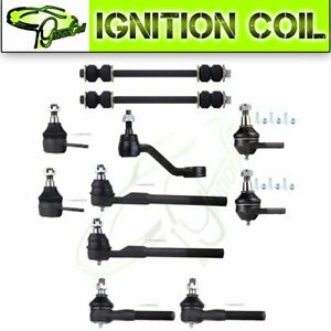 11pc New Front Ball Joint Sway Bar Suspension Parts For 2000 2001 Dodge Ram 1500