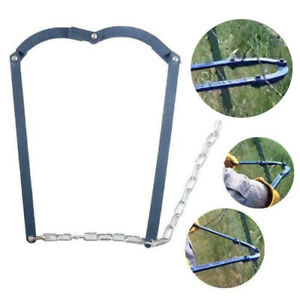 20inch Chain Farm Fence Strainer Fencing Repair Tool Wire Tensioner Easy To Use