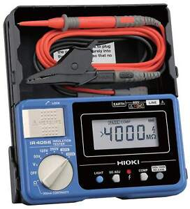 Hioki Ir4056 20 Digital Meg ohm Insulation Tester