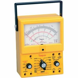 Simpson 260 8xi Analog Multimeter Vom
