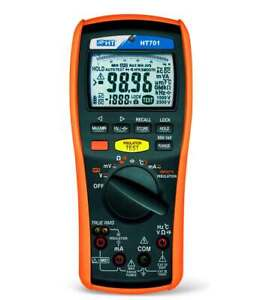 Ht Instruments Ht701 Professional Trms Multimeter Insulation Meter