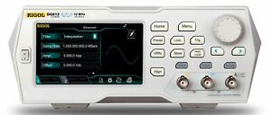 Rigol Dg812 10 Mhz Function Arbitrary Waveform Generator 2 Channel