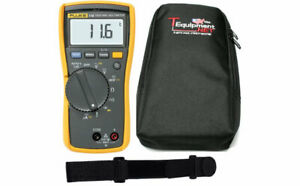 Fluke 116 Pro Te Hvac True Rms Multimeter With Soft Case And Magnetic Hanging St