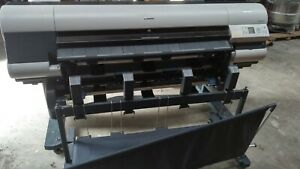 Canon Imageprograf Ipf825 44 Wide format Color Printer 30 Day Guarentee