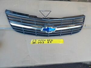 2003 Chevy Chevrolet Impala Center Middle Front Grill Grille Grile
