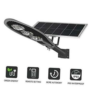 LOVUS Commercial Solar Street Light 15000LM LED Solar Street Lamp with Remote a $327.41