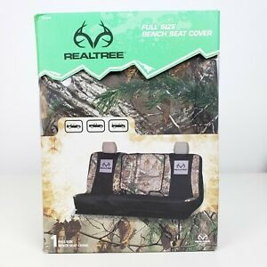 Realtree Seat Cover Universal Full Sized Bench Xtra Camo Suv Truck Van Rsc5020