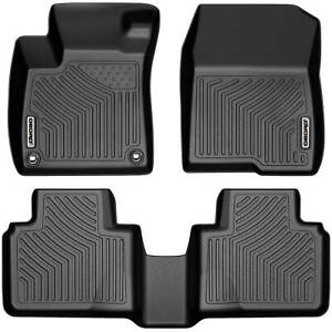 Oedro Floor Mats Liners Tpe For 2018 2021 Honda Accord All weather Full Set