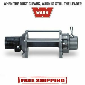 Warn Series 6 Vehicle Mounted 6 000 Lbs Hydraulic Industrial Winch 33445