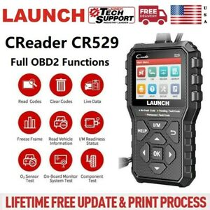 2020 Launch X431 Cr529 Obd2 Code Reader Check Engine Diy Diagnostic Scanner Tool