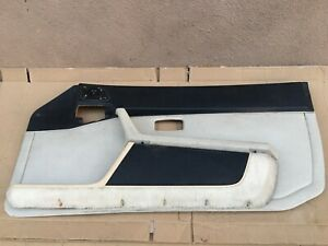 Porsche 944 Turbo 944 S2 968 Speaker Door Panel Black Tan