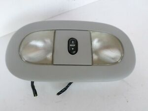 2004 2008 Ford F150 Lariat Overhead Console Dome Light Map Light W Sun Roof Gray