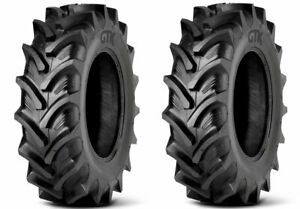 2 New Tractor Tires 18 4 42 Radial Gtk Rs200 18 4r42 R1w 480 80r42 Tubeless Fs