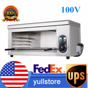 Cheese Melting Machine Electric Broiler Bbq Gril Countertop Tool 50 300 c 110v
