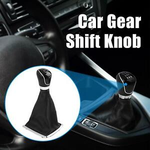 Car Manual 5 speed Gear Stick Shift Knob Lever W Cover Interior For Ford Focus