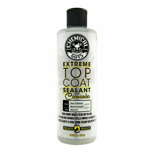 Chemical Guys Extreme Top Coat Carnauba Wax And Sealant In One 16 Oz New