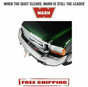 Warn Black Semi hidden Winch Mount For Ford F 250 To F 550 exursion 99 04 62289