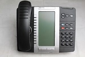 Lot Of 5 Mitel 5330e Backlit Lcd Business Office Ip Phones see Photos