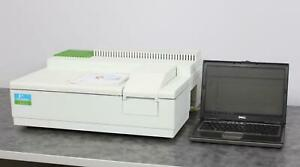 Perkin Elmer Lambda 25 Uv vis Spectrophotometer Analytical Research With Laptop
