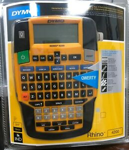 Rhino 4200 Label Maker