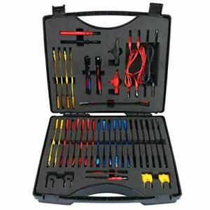 Automotive Circuit Test Leads Kit With Black Carrying Case Electrical Testers