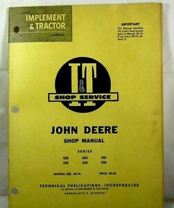 John Deere Shop Manual Models 435d And 440 Id