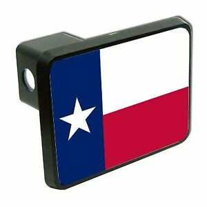 Texas State Flag 2 Tow Trailer Hitch Cover Plug Car Truck Receiver Funny