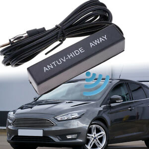 New Universal Car Hidden Amplified Antenna Kit Electronic Stereo Am Fm Radio 12v