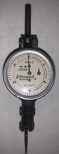 Interapid 312b 2 Dial Brown Sharpe 74 111371 Test Indicator 060 0005 Must See