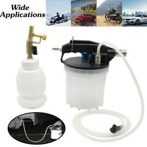 2l Pneumatic Vacuum Brake Bleeder Fluid Extractor 1l Fluid Refilling Bottle Kit