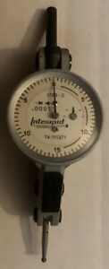 Brown Sharpe 74 111371 Interapid 312b 2 Dial Test Indicator 060 0005 Must See