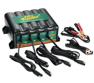 New Battery Tender 4 Bank 12v 1 25a Battery Charger