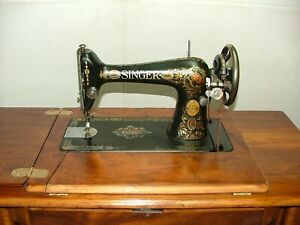 Antique Singer Treadle Sewing Machine Model Class 66