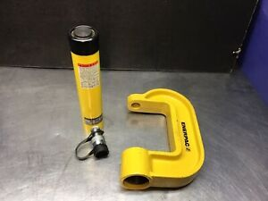 Enerpac Rc108 10 Ton Hydraulic C clamp Use With Enerpac Rc10 Series Cylinders