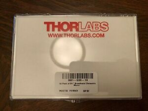 Thorlabs Bb1 e03 10 1 Broadband Dielectric Mirror 750 1100 Nm 10 Pack