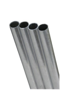 K s Precision Metals 83061 Round Aluminum Tube 1 4 Od X 0 049 Wall Thickness