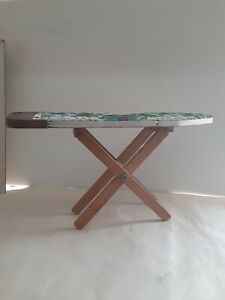 Vintage Small Wooden Ironing Board