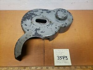 Hendey 16 Lathe Change Gear Cover gaurd No Cracks Or Repairs